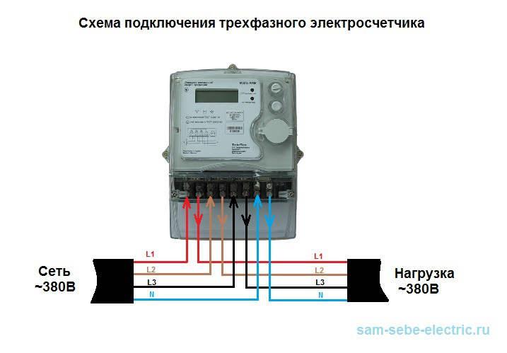 Схема установки электросчетчика нева 103 120