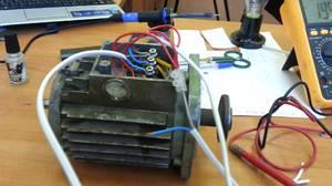 Můžete připojit 3-fázový motor k jedné fázi