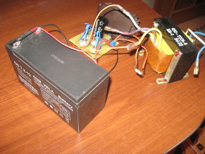 Как сделать из зарядника 12 вольт 807