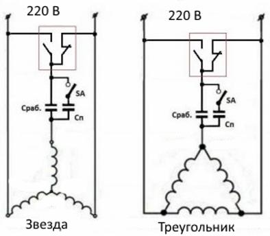So schließen Sie einen 3-Phasen-Motor an ein einphasiges Netzwerk an ...