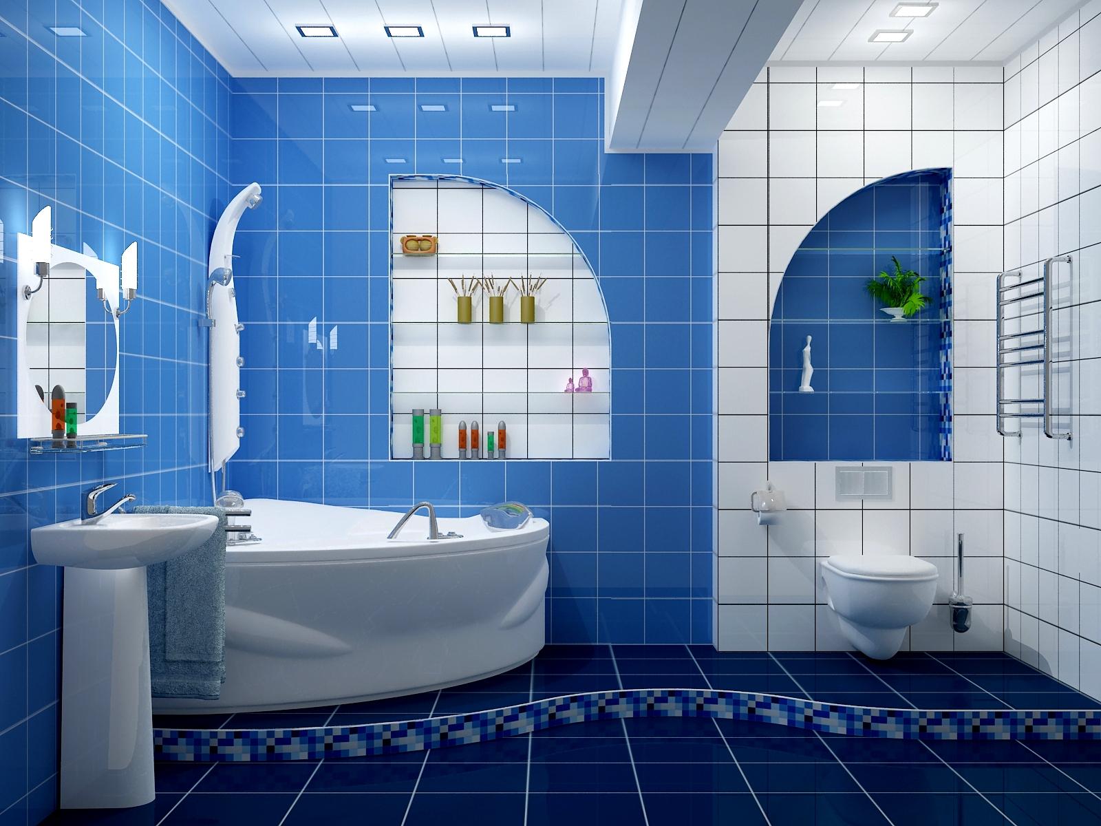 Plan für die Reparatur des Badezimmers. Die Reihenfolge der ...