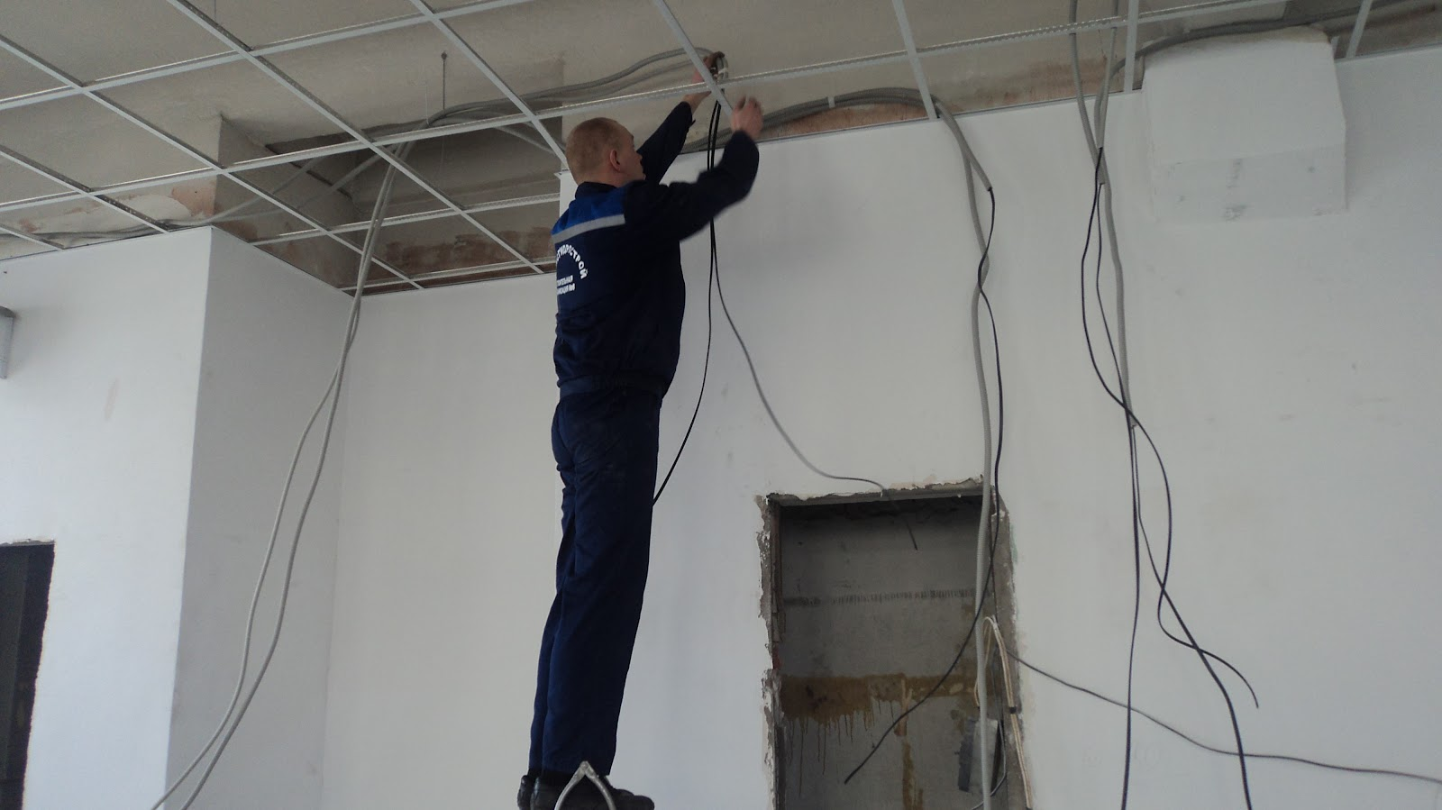 Regeln für die Installation der elektrischen Verkabelung in der ...