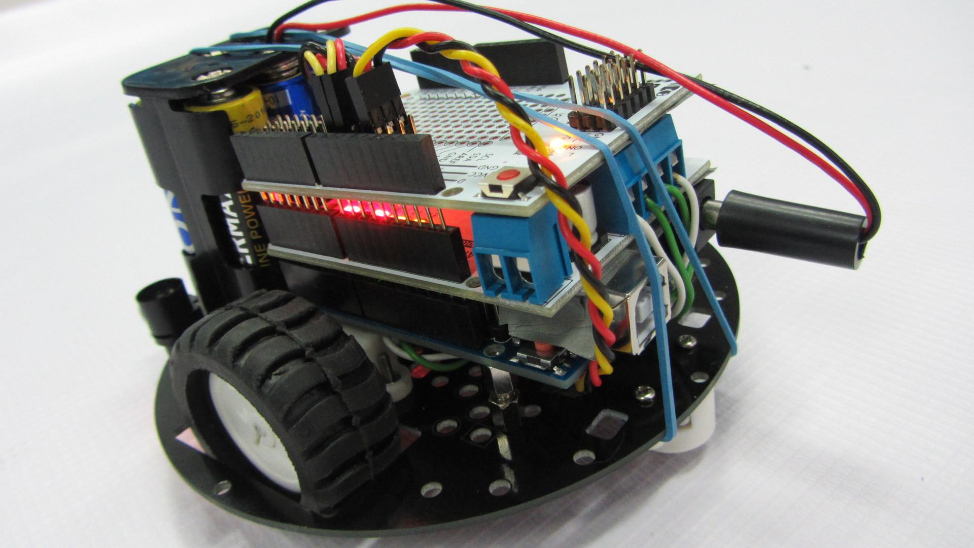 arduino připojení motoru štít výroba oceli