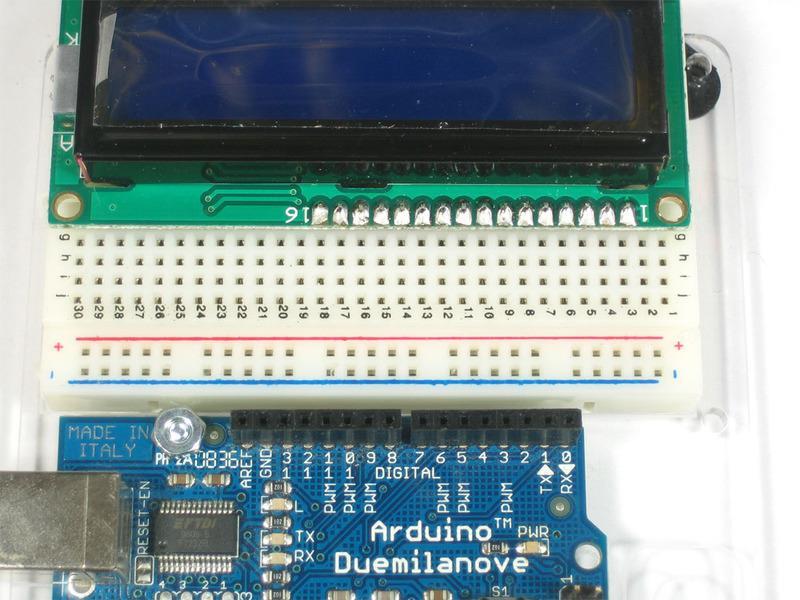 Obr. 25 Arduino Nano připojené na ethernetový modul.